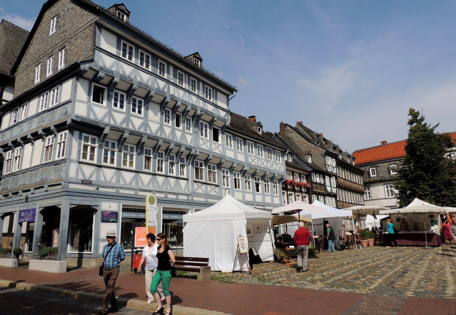 Fachwerkhäuser von Goslar