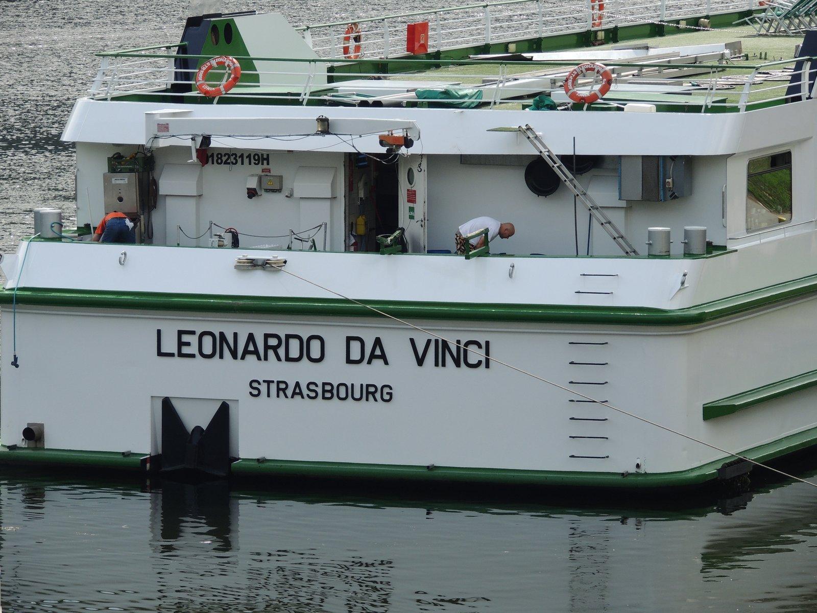 MS Leonardo da Vinci auf dem Rhein