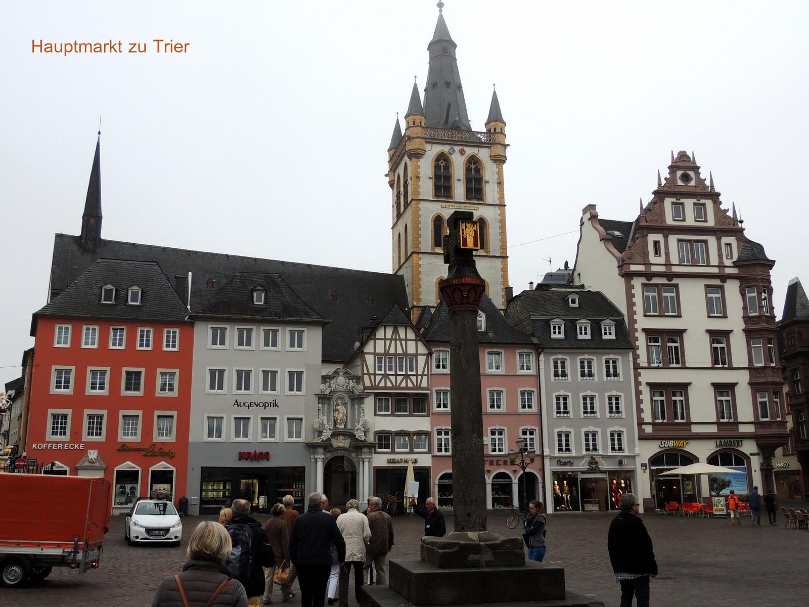 Hauptmarkt zu Trier