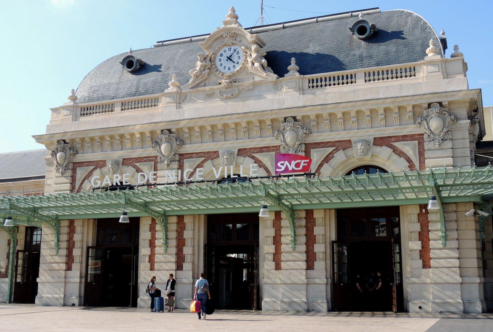 Bahnhof Nizza Côte d`Azur