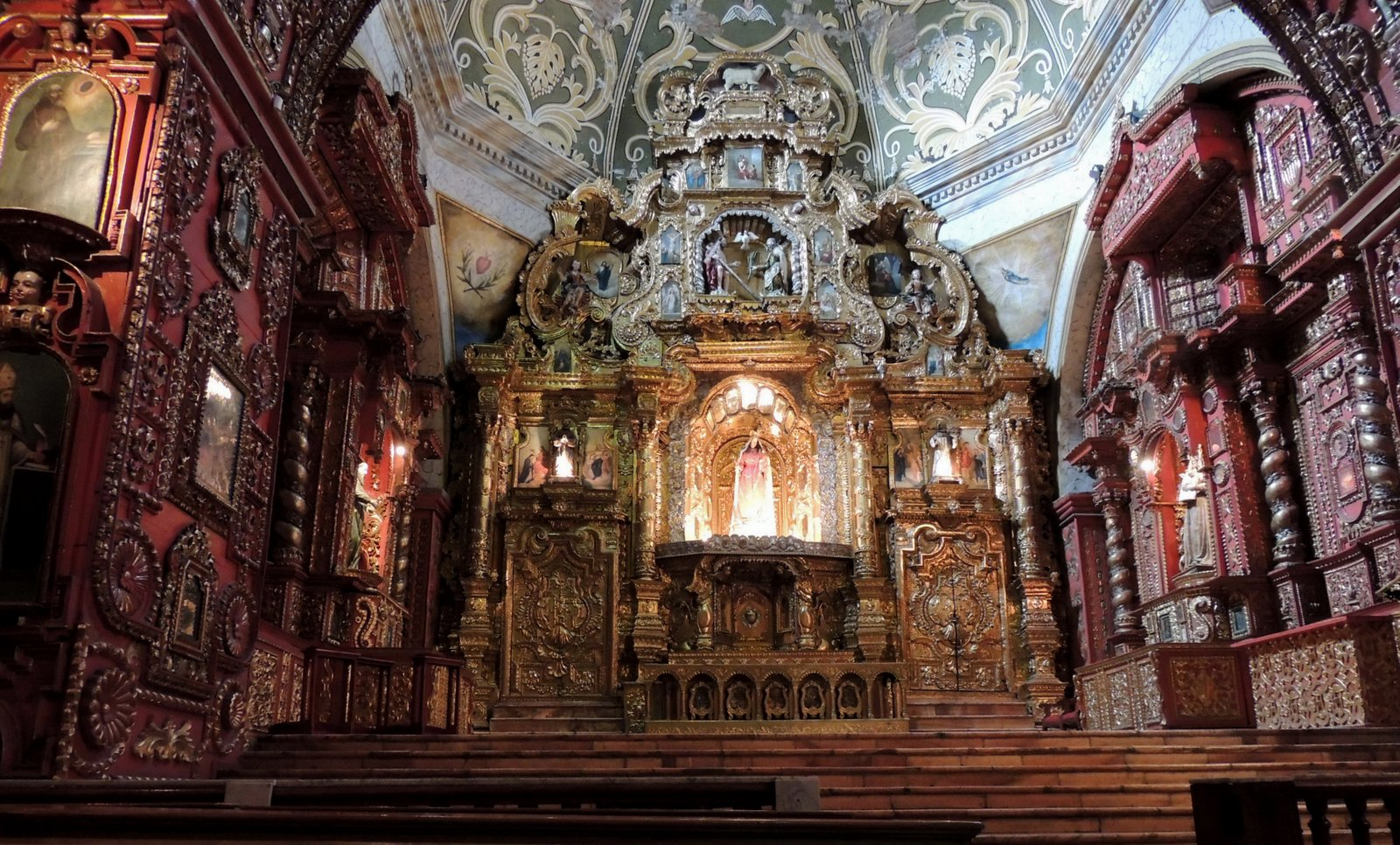 Rosenkranzkapelle Quito Ecuador