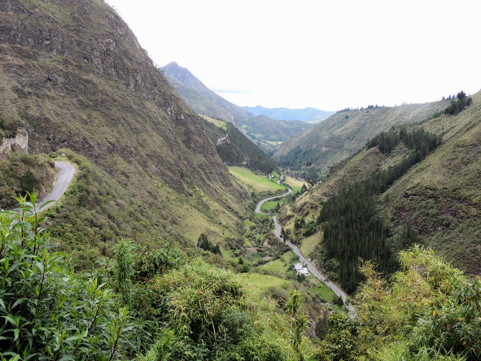 Inkapfade im Hochland von Ecuador