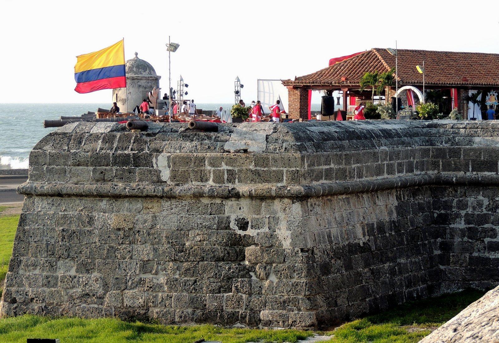 Wehrmauer von Cartagena Kolumbien