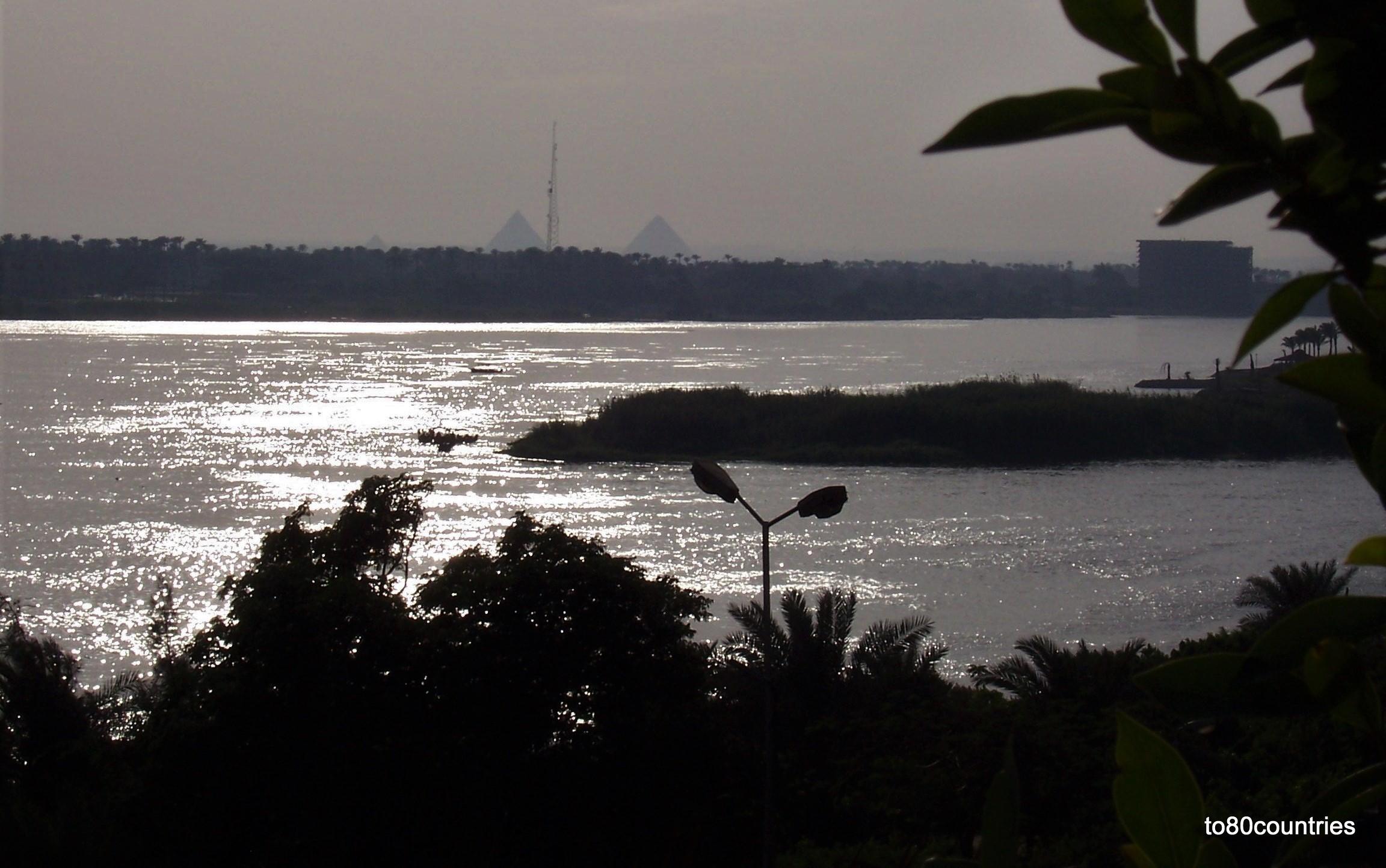 Kairo - Sofitel Maadi Towers - Blick auf den Nil