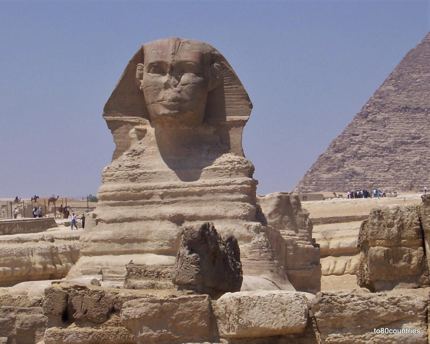 Sphinx von Gizeh - Großraum Kairo