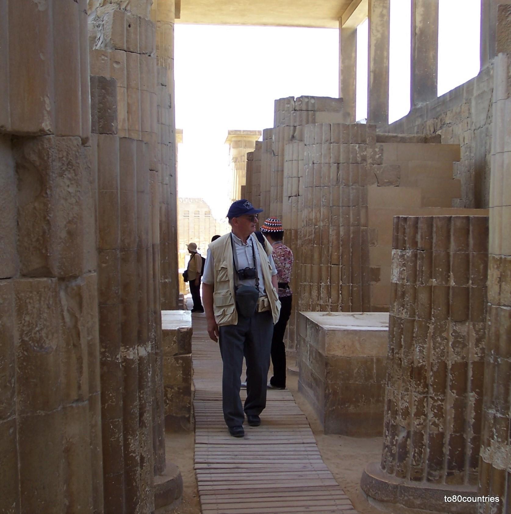 Totenstadt von Sakkara