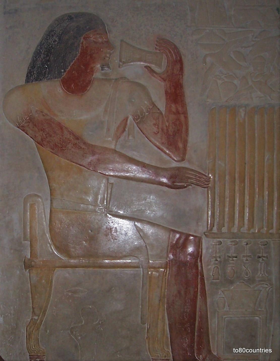 Sakara - Mastaba des Ptahhotep