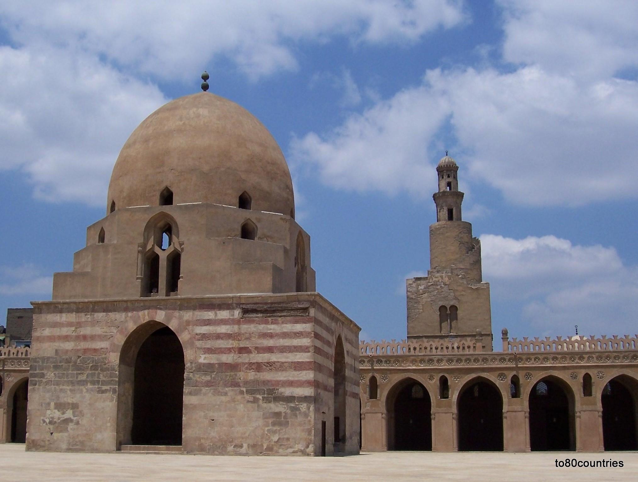 Ibn-Tulun-Moschee in Kairo