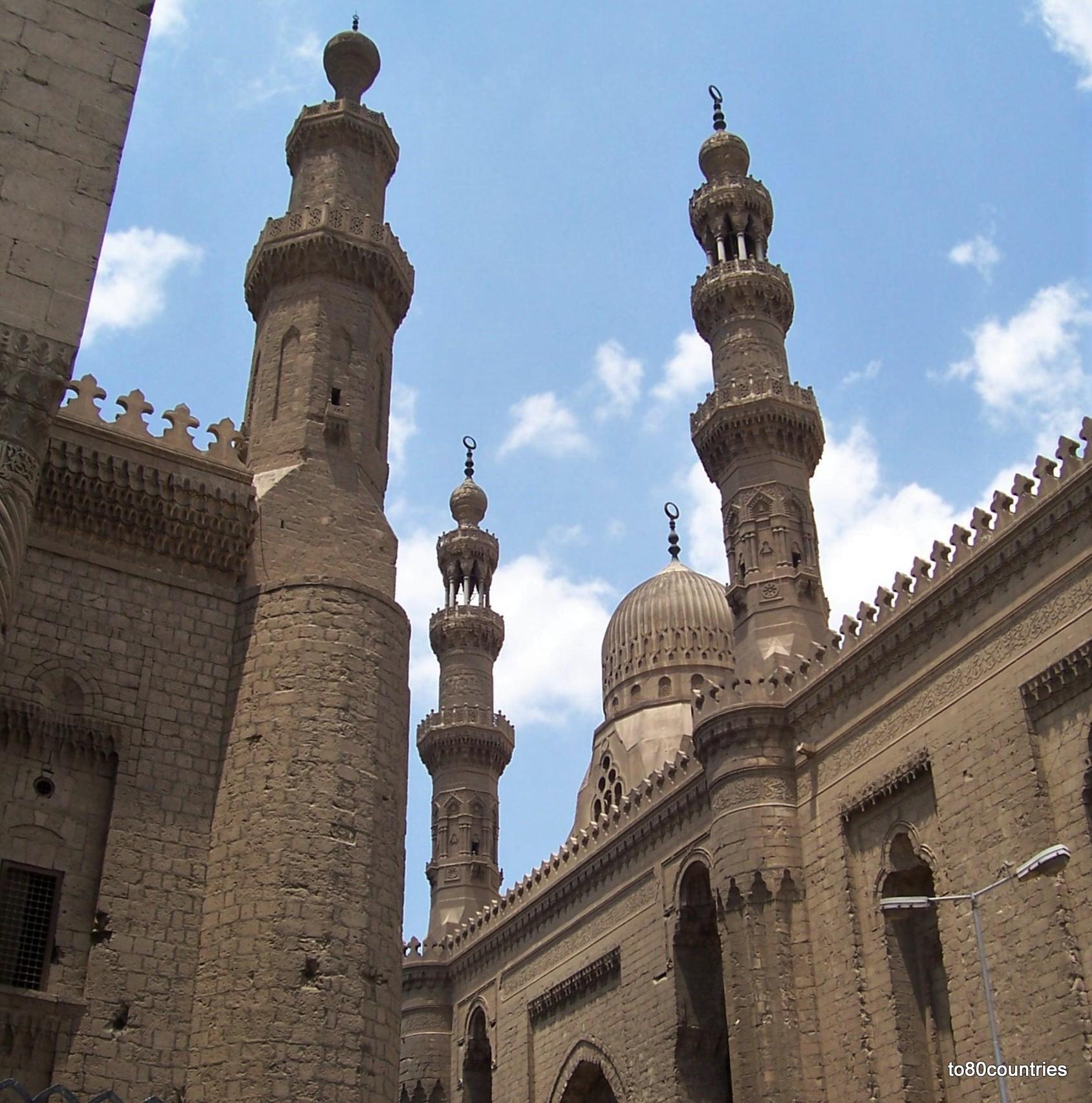 Sultan-Hassan-Moschee in Kairo