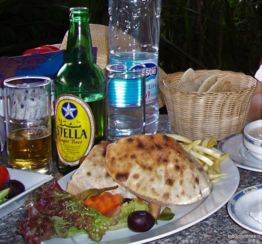 Lunch im Nile Hilton - Kairo