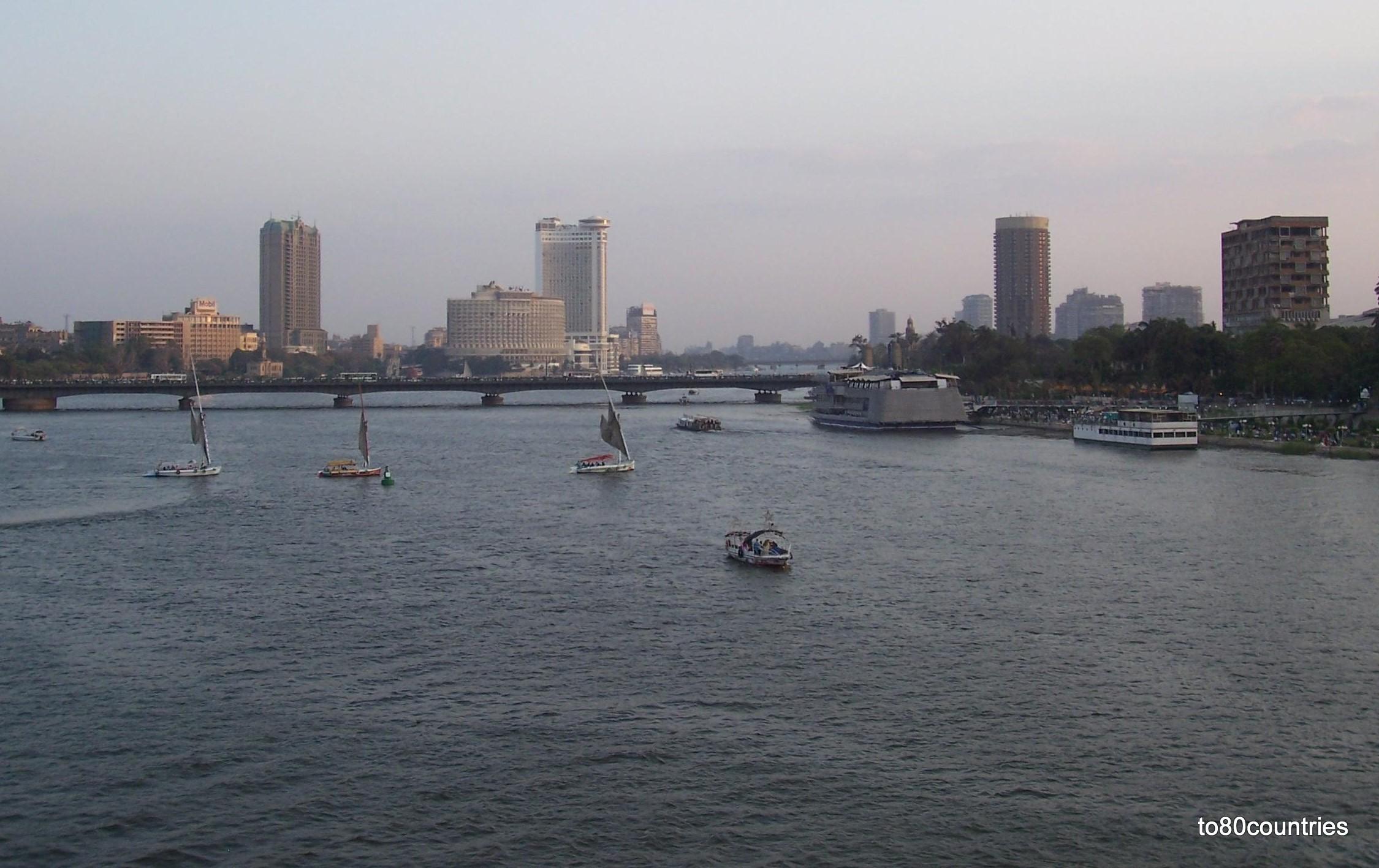 Der Nil bei Kairo
