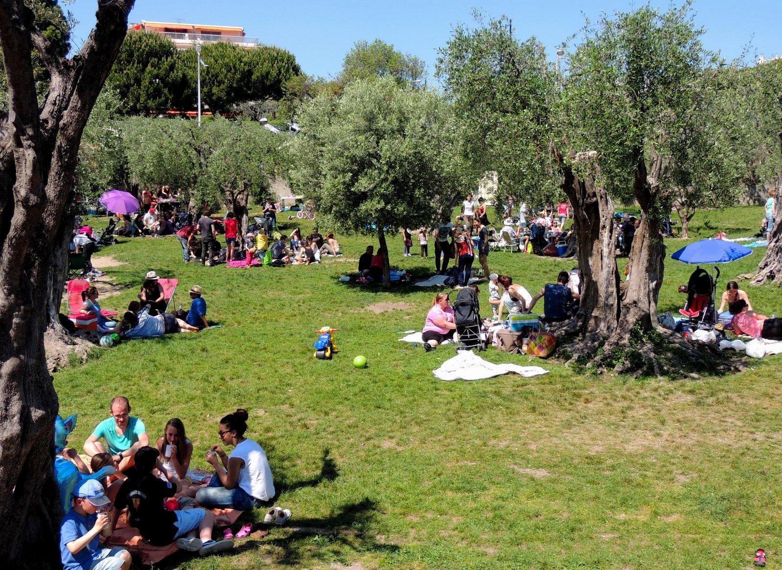 Maifest im Park Cimiez - Nizza