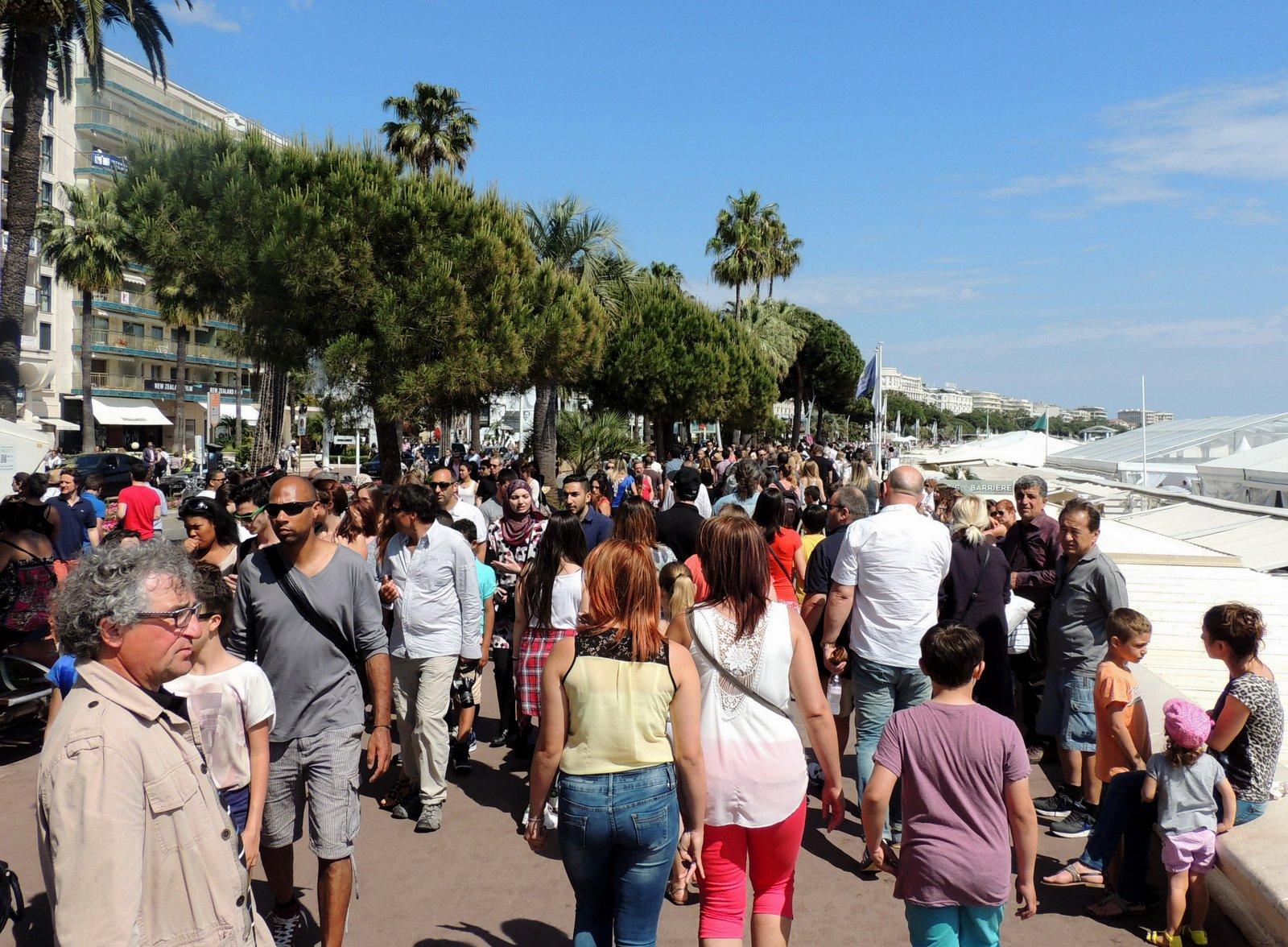 Croisette von Cannes - Côte d`Azur