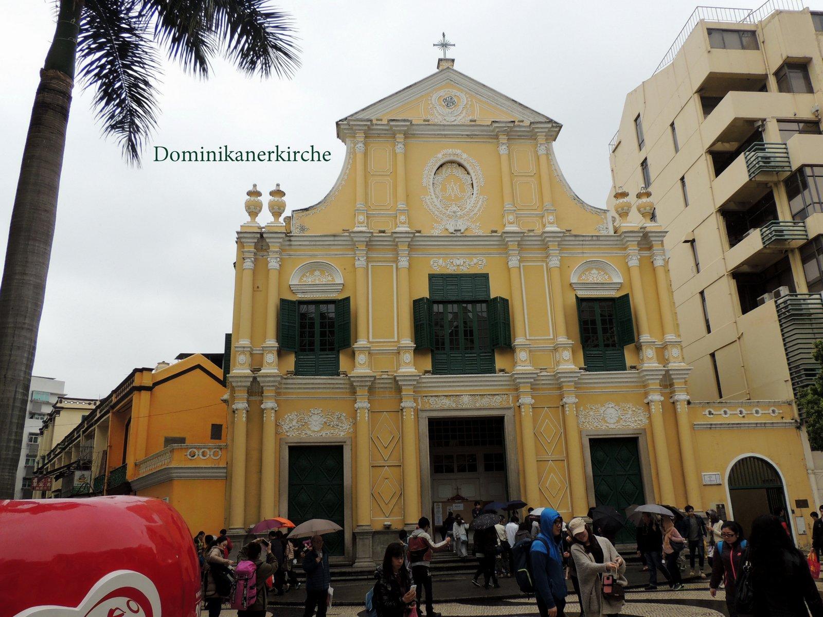 Dominikanerkirche Macau
