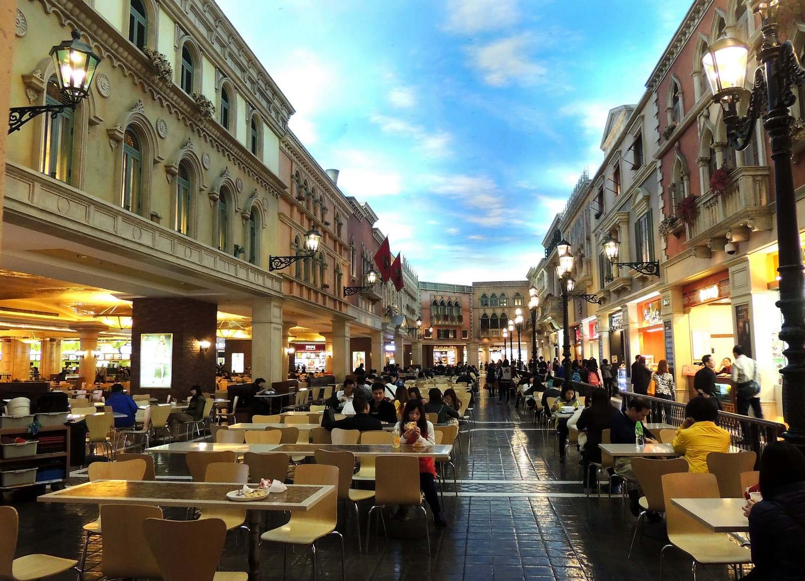 Venetian Food Court Macau