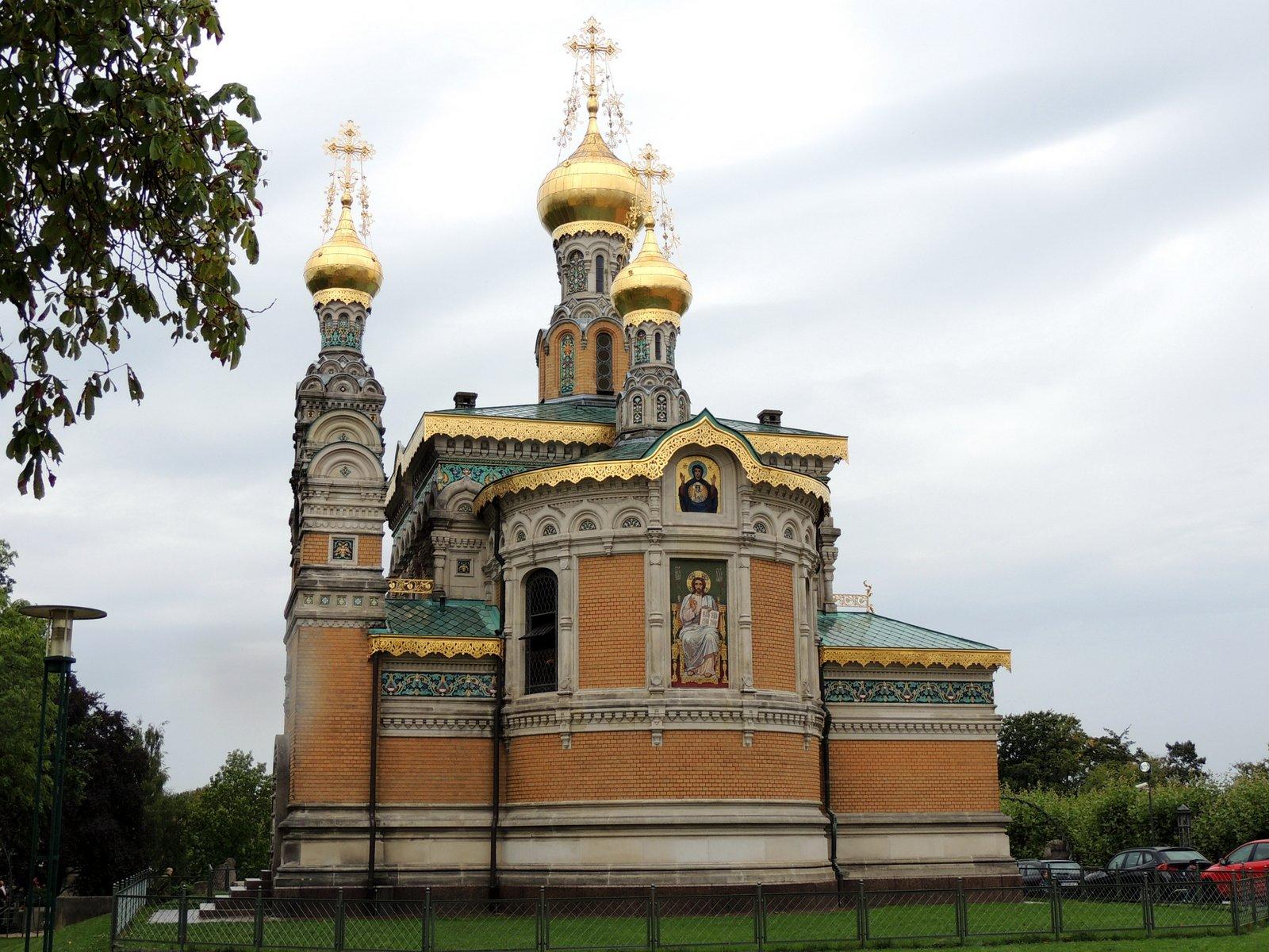 Russische Kapelle in Darmstadt