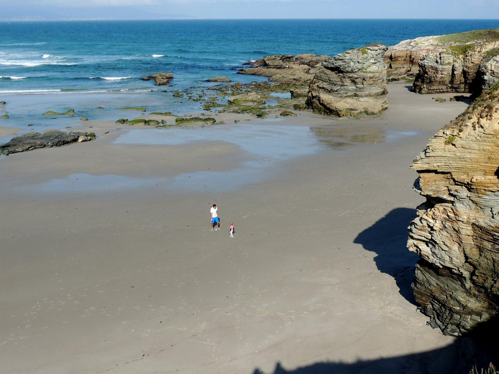 Praia das Islas und Praia das Catedrais an der Galicischen Küste