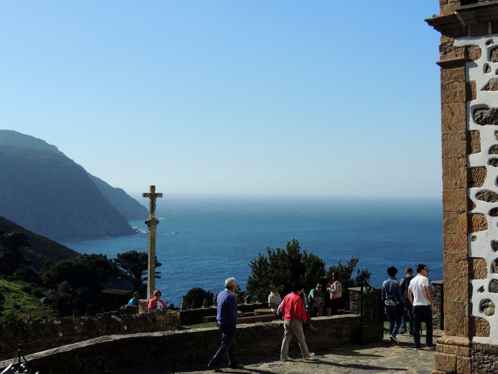 San Andres de Teixido an der Küste Costa da Morte