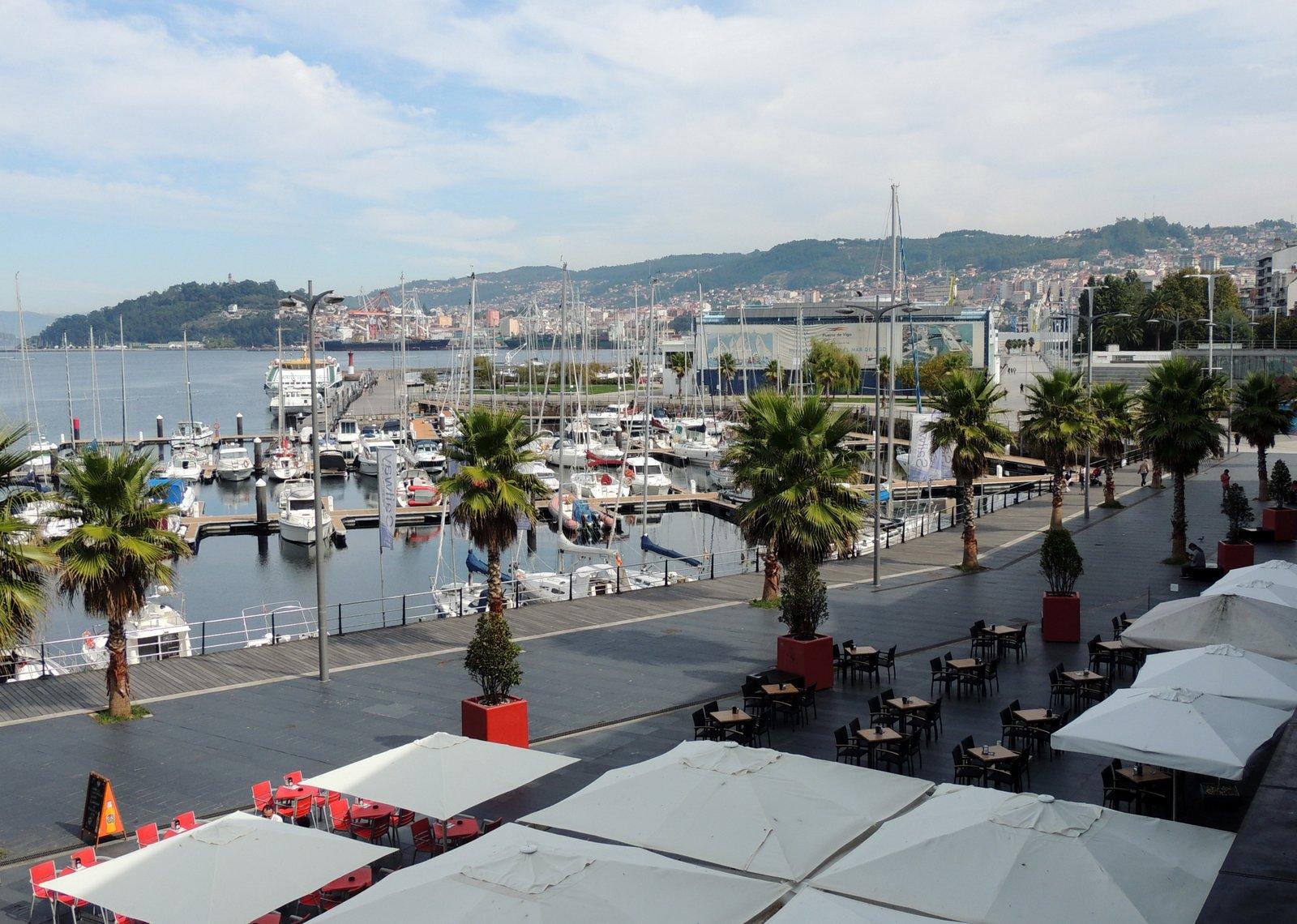 Hafen von Vigo an der Atlantik-Küste
