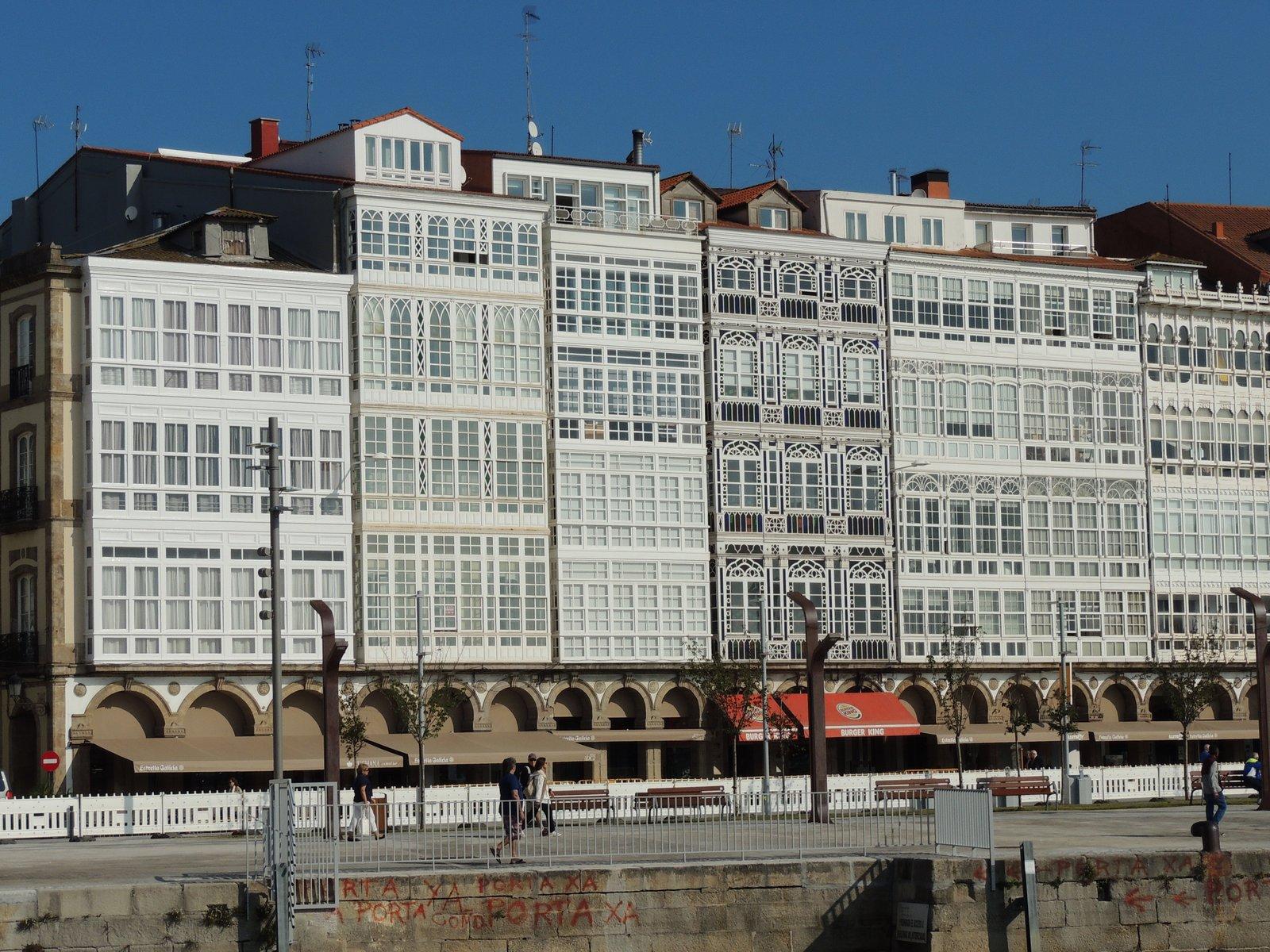 A Coruña an der Küste