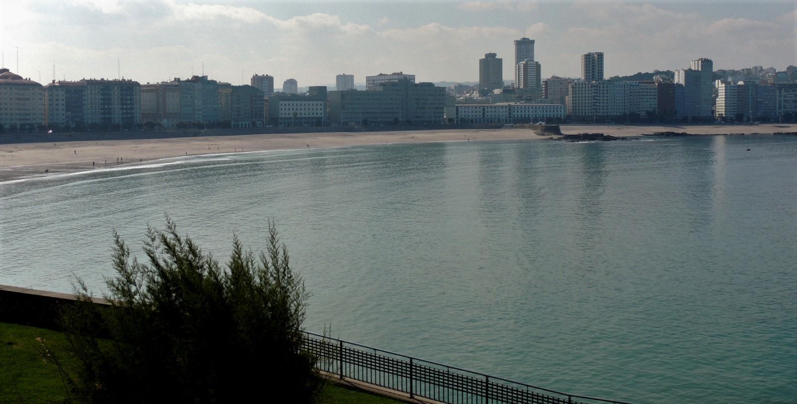 Playa de Riazor - A Coruña - Atlantk-Küste