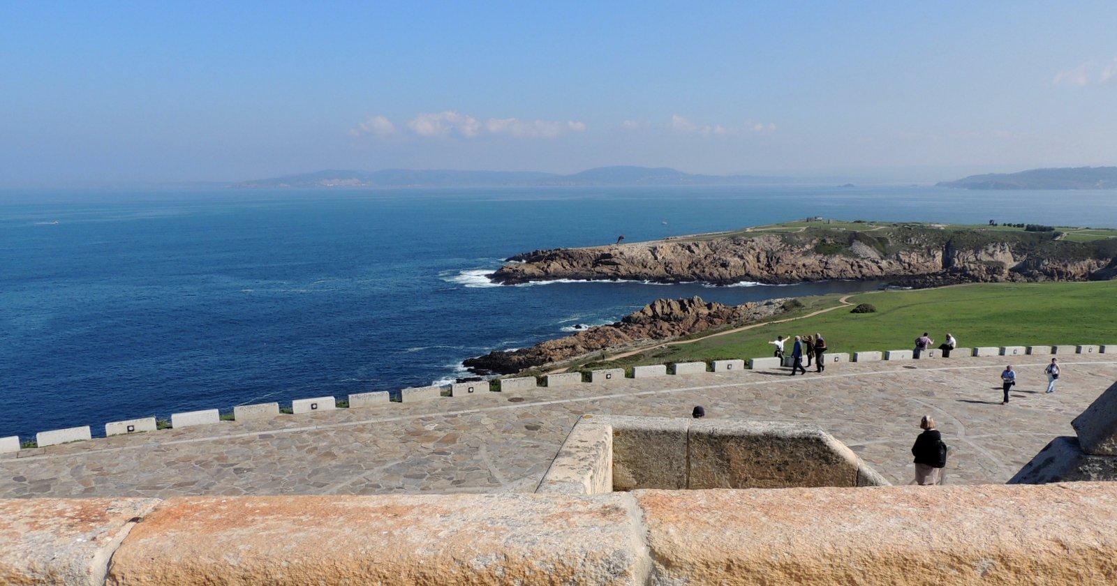 A Coruña - Herkulesturm an der Atlantk-Küste