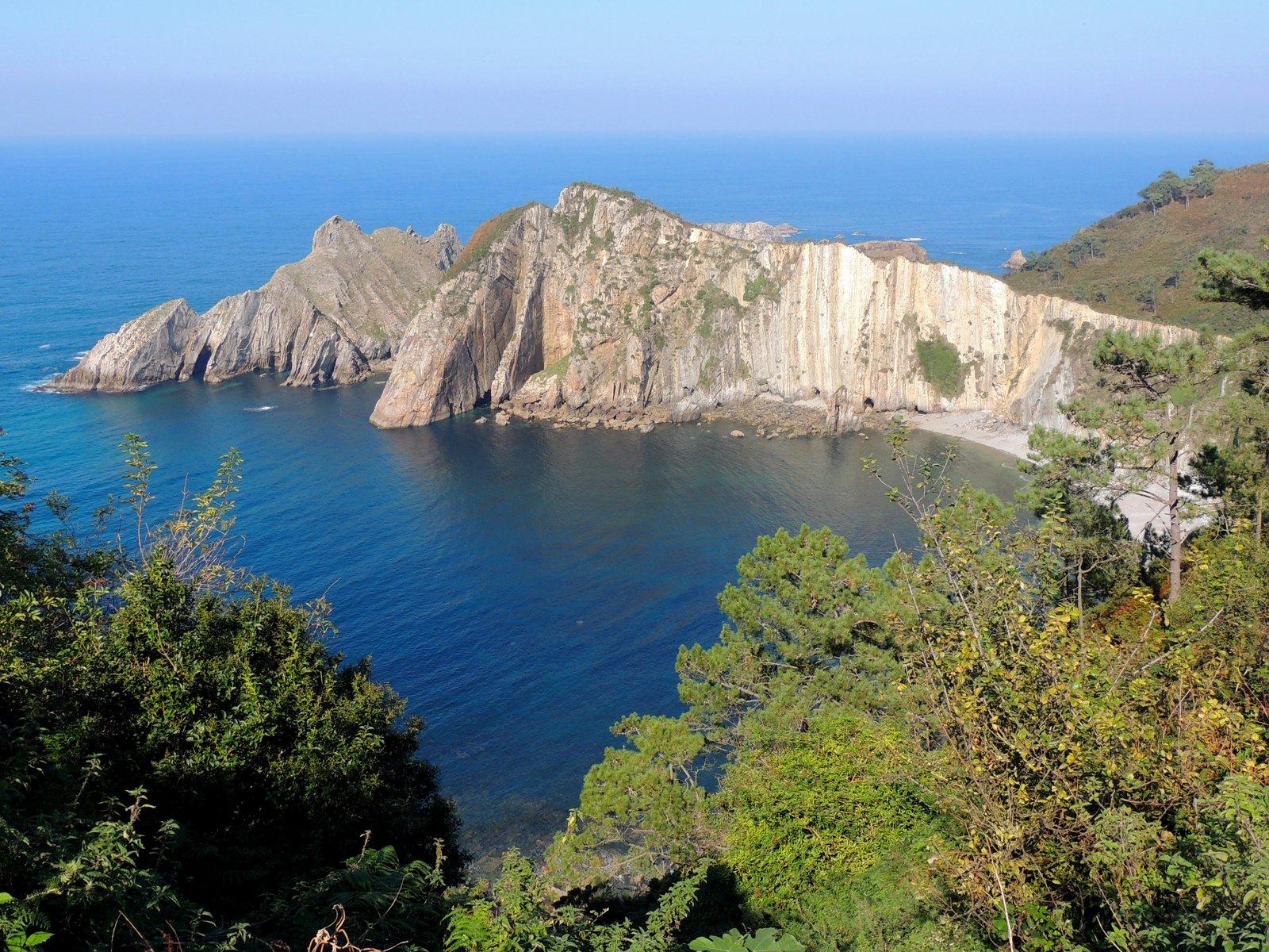 Playa Silencio an der Asturischen Küste