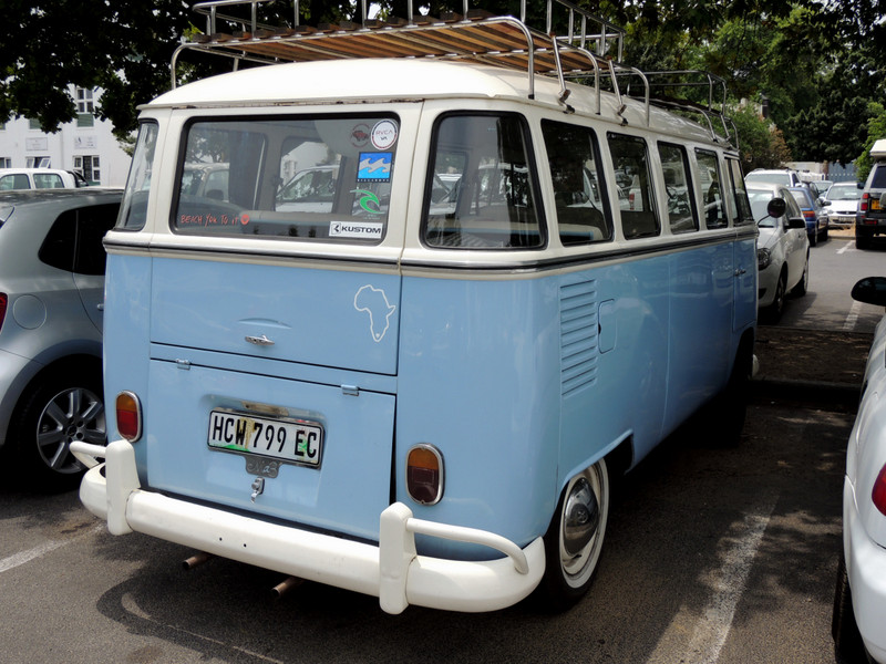 VW Bus in Kapstadt