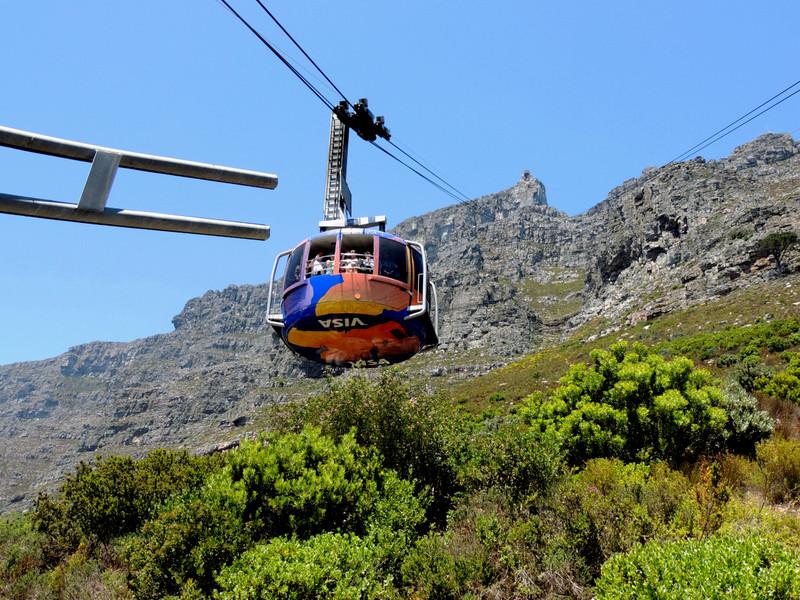 Seilbahn am Tafelberg Kapstadt