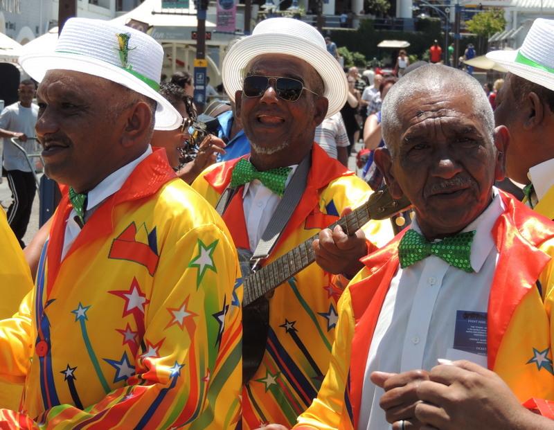 Musiker in Kapstadt