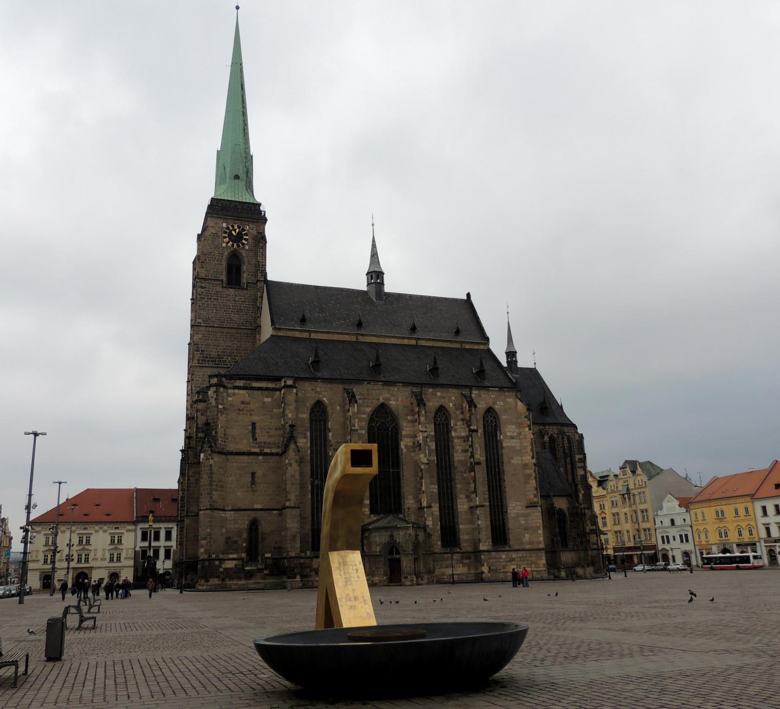 St. Bartholomäuskirche in Pilsen / Westböhmen