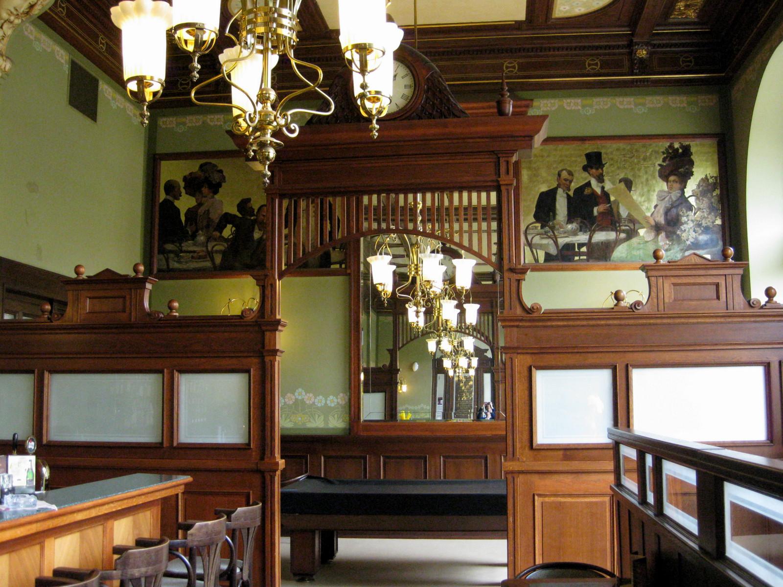 Bürger- und Vereinshaus - Café in Pilsen