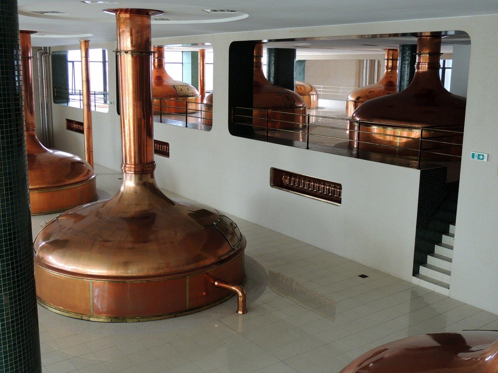 Pilsner Urquell Brauerei / Westböhmen
