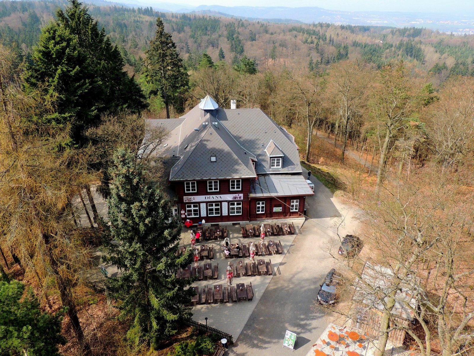 Forsthaus Diana bei Karlsbad