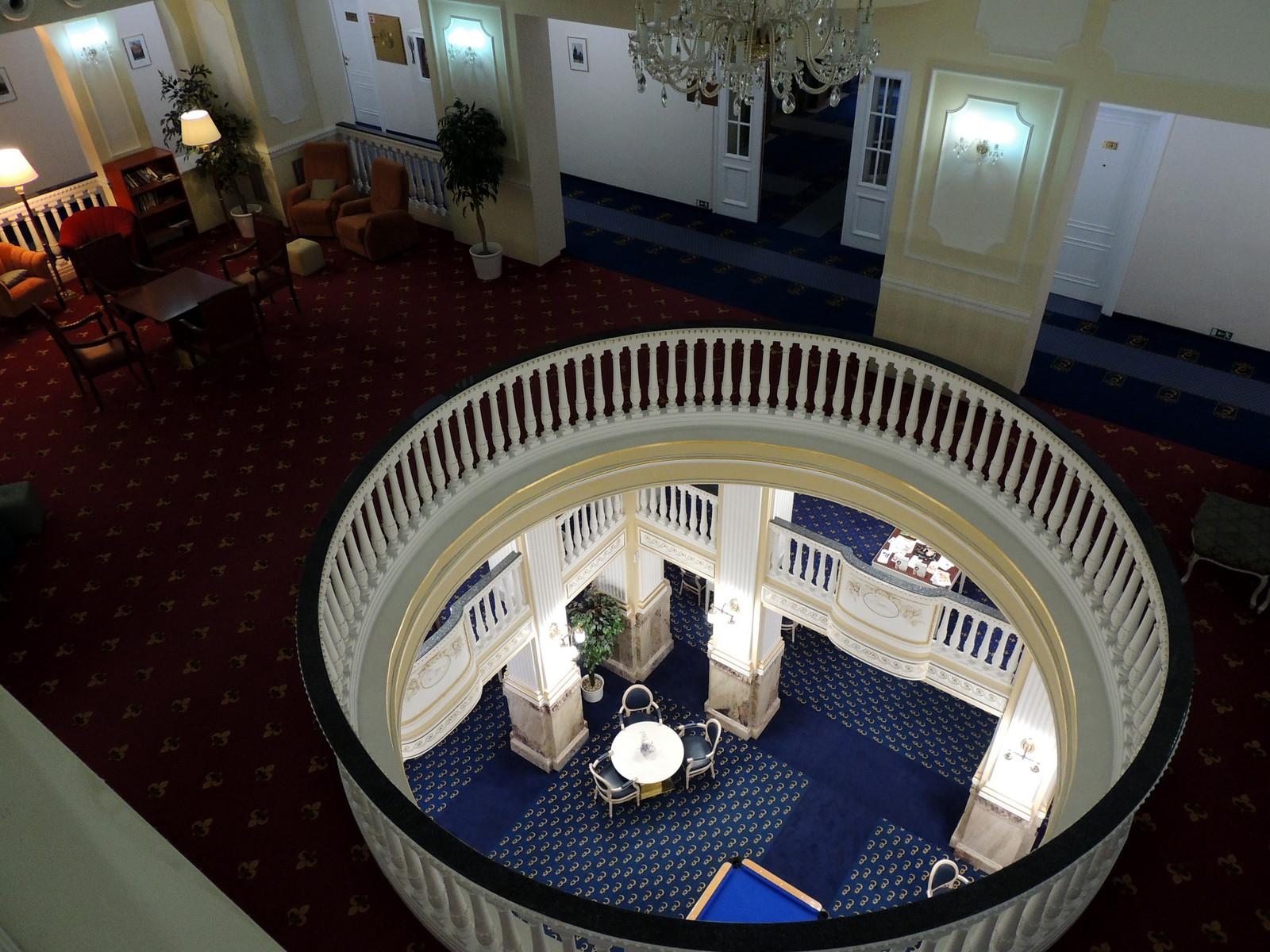 Hotel Esplanade / Treppenhaus