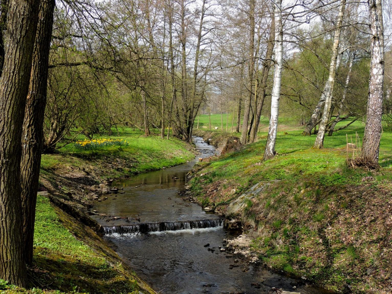 Kurpark Marienbad / Westböhmen