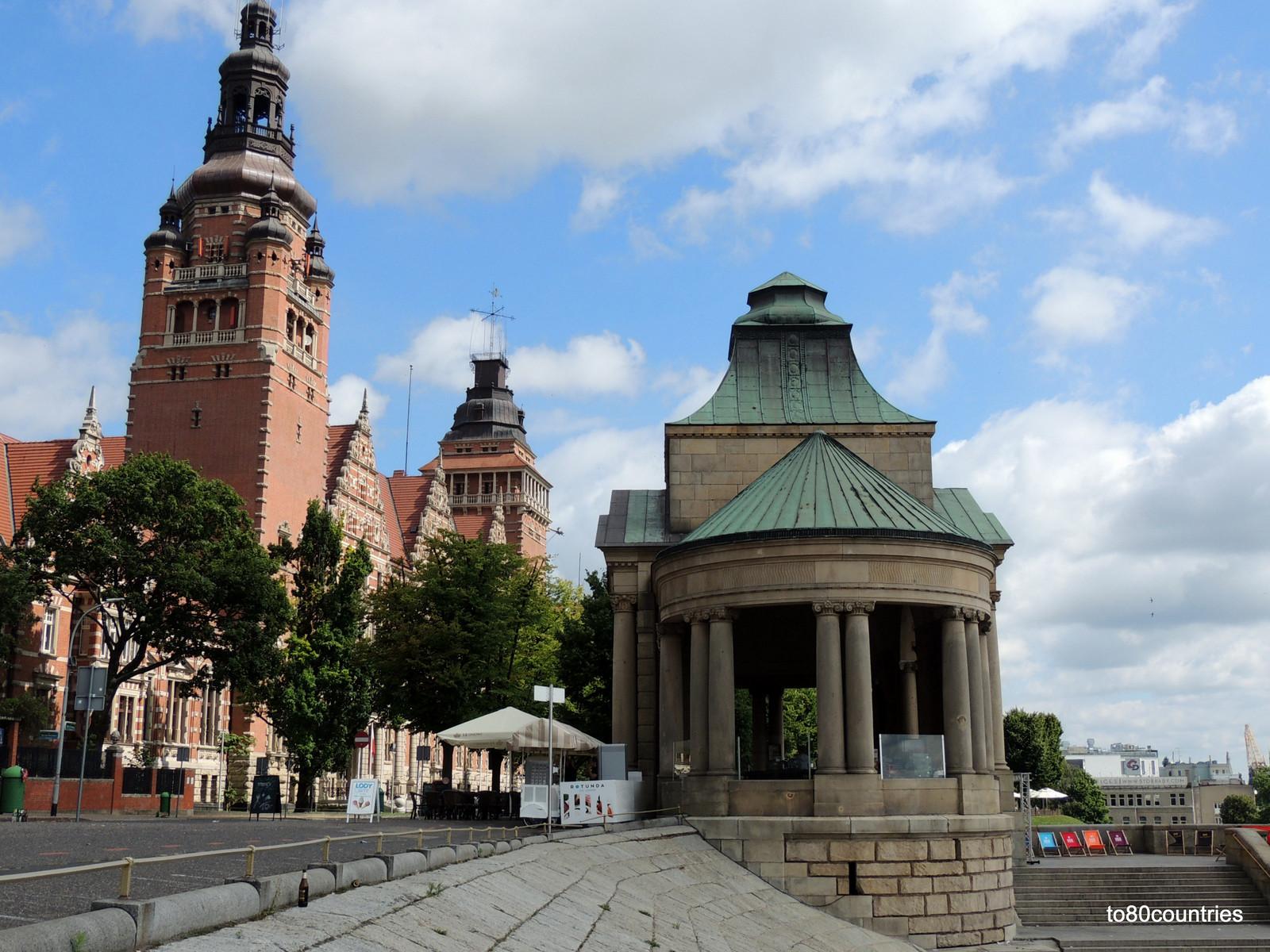 Bezirksverwaltung (Woiwodschaftsamt) von Westpommern - Stettin