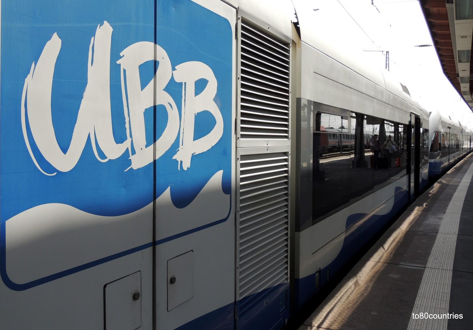 Usedomer Bäderbahn UBB