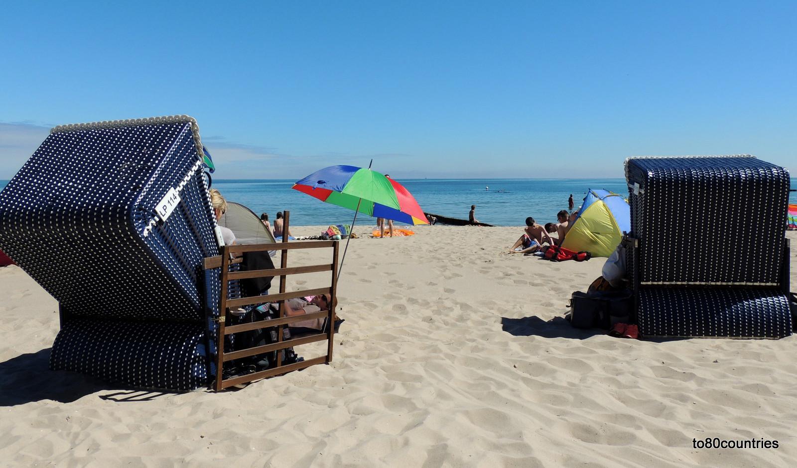 Strand von Koserow auf Usedom
