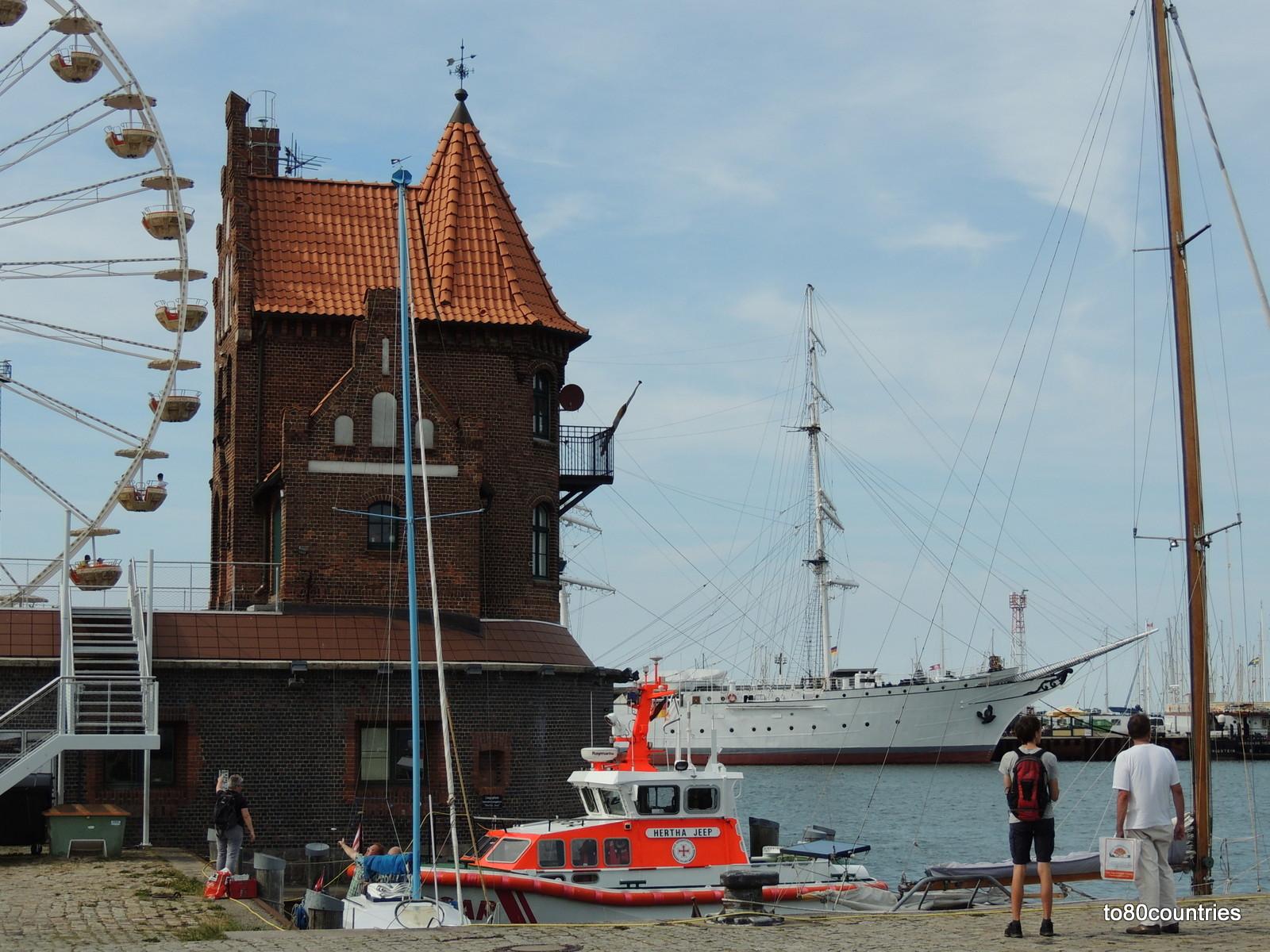 Der Hafen von Stralsund
