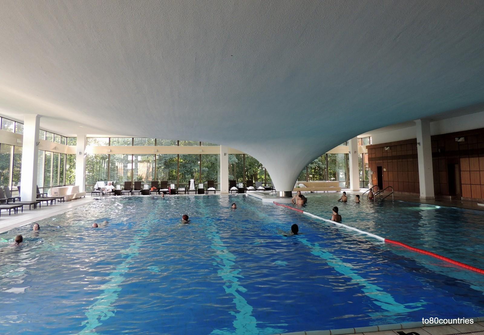 Usedom und Rügen - Cliff Hotel Sellin - Hallenbad