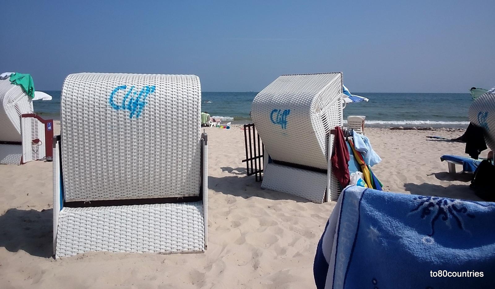Usedom und Rügen - Cliff Hotel Sellin - Strand