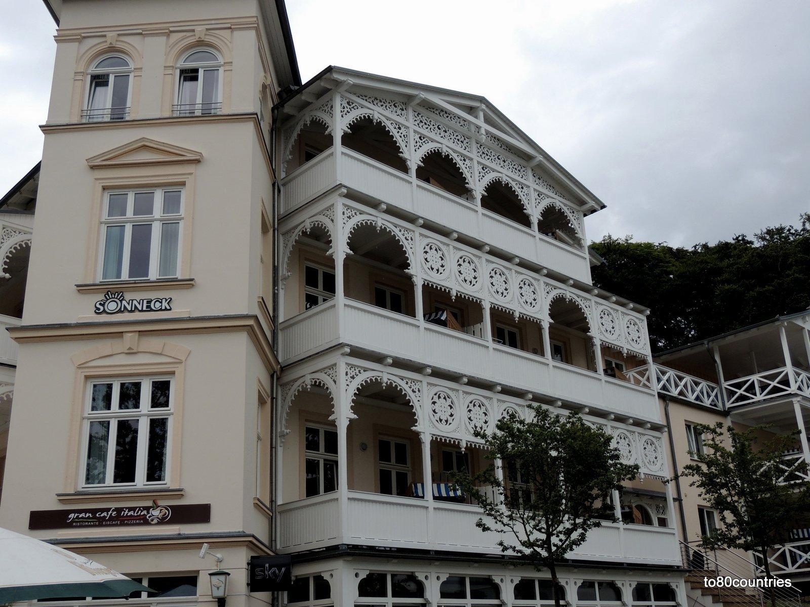 Usedom und Rügen - Haus Sonneck Sellin