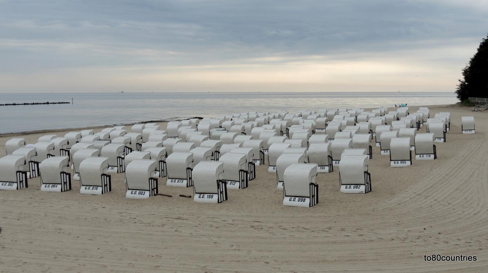 Usedom und Rügen - Strand von Sellin