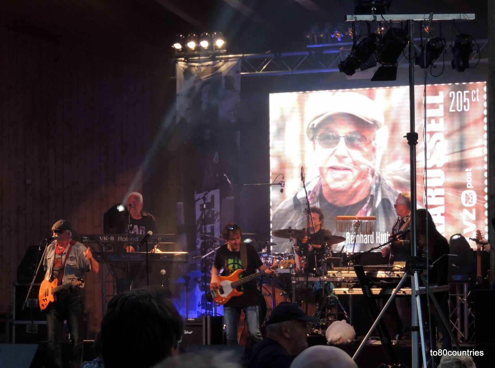 """Usedom und Rügen - DDR-Rockband """"Karussell"""" in Baabe"""