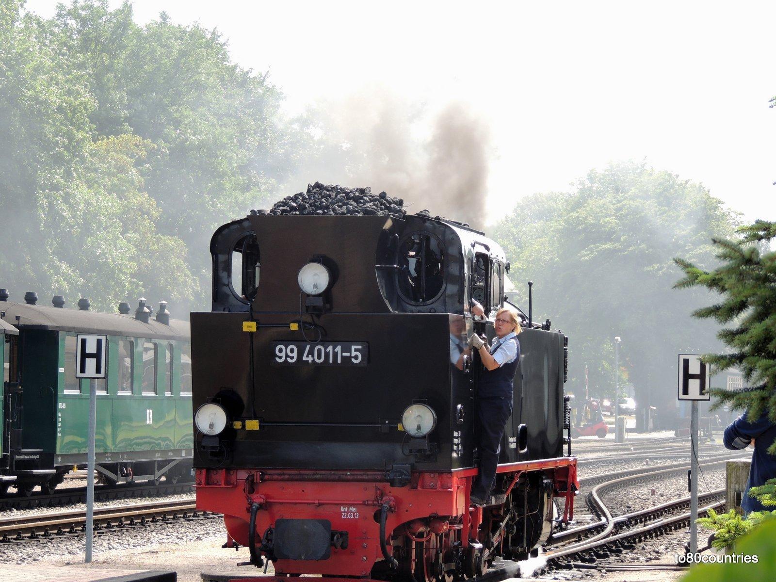 Usedom und Rügen - Rügener Bäderbahn RüBB