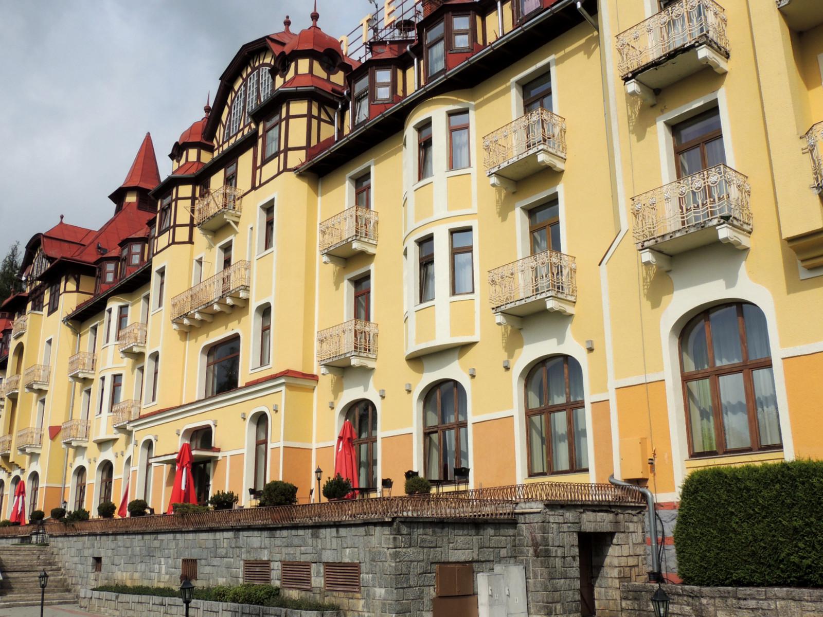 Grandhotel Praha Tatranska Lomnica Hohe Tatra