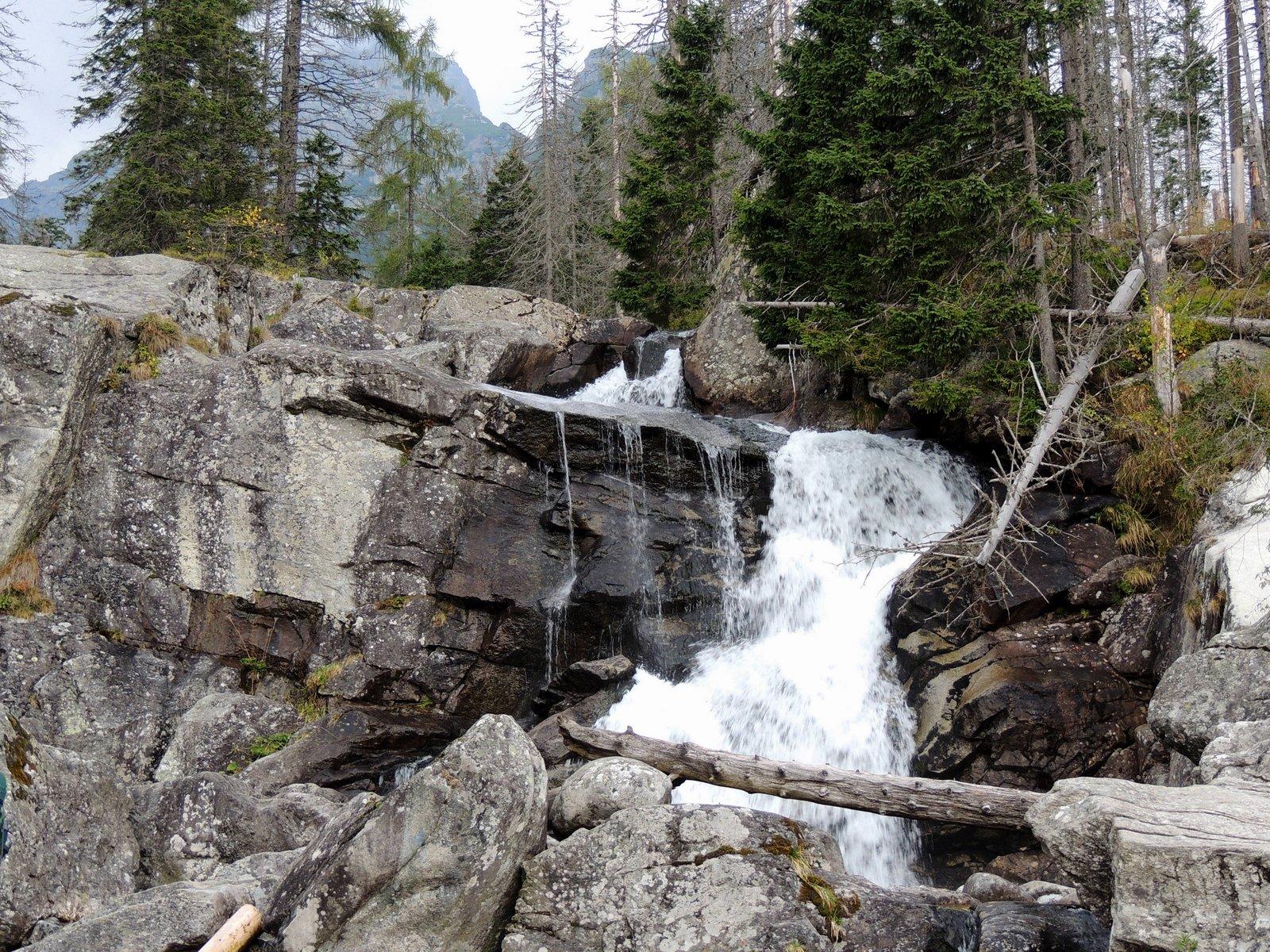 Wanderweg an der Bilikova Chata Hohe Tatra