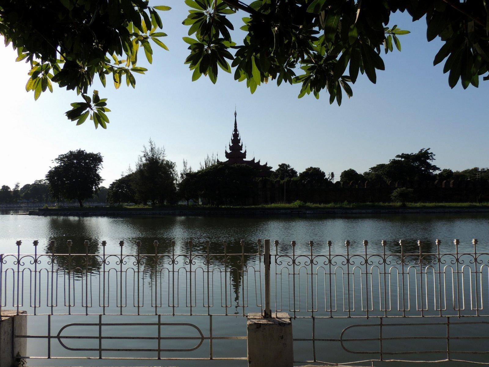 Königspalast in Mandalay / Burma