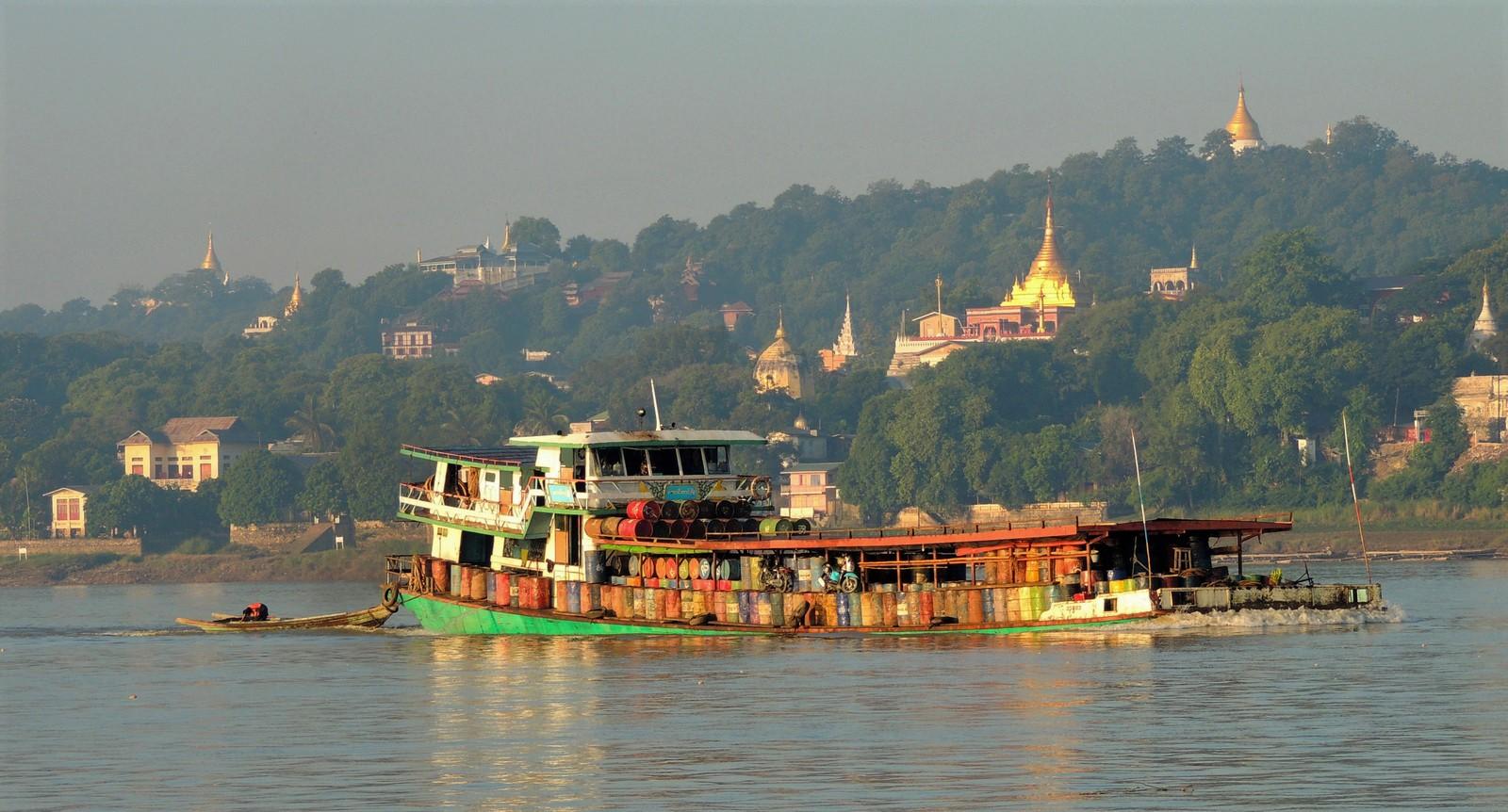 Sagaing am Irrawaddy
